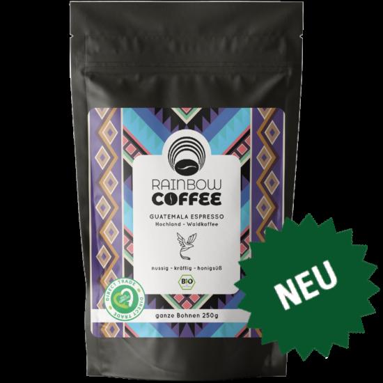 Rainbow Coffee Guatemala Espresso Vorderseite