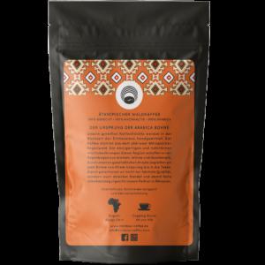 Rainbow Coffee Äthiopischer Espresso Rückseite